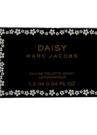 Пробник туалетной воды daisy marc jacobs