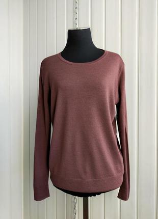 Шерстяной свитер hessnatur 40, 100% тончайшая  шерсть ,