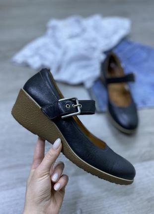 Качественные туфельки ecco