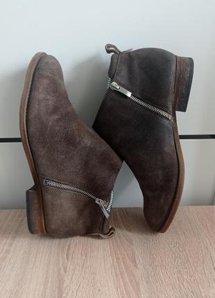 Ботинки, ботильоны из натуральной кожи