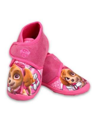 Тапочки для дівчинки paw patrol disney