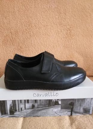 Замечательные кожаные туфли на мальчика р.36 стелька 23,5 см