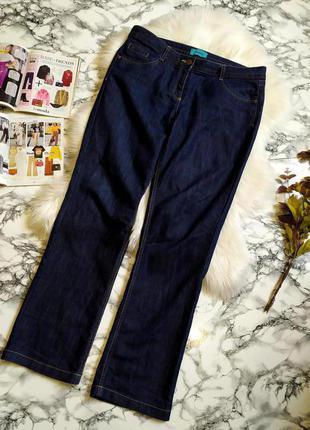 Стильные джинсы прямого кроя размер ххl