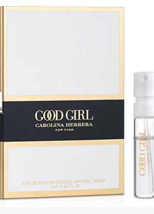 Carolina herrera good girl legere парфюмированная вода пробник