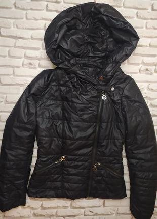 Демисезонная куртка с капюшоном salco польша