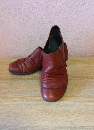 Красивые туфли полу ботинки rieker натуральная кожа акция 1+1=3