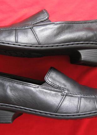Jenny by ara (41, 26 см) кожаные туфли слипоны