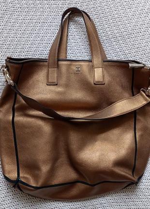 Крутая сумка дорогого французского бренда coccinelle