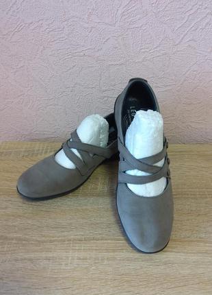 Красивые туфли legero  натуральная кожа нубук акция 1+1=3
