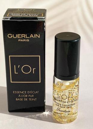 База под макияж guerlain l'or radiance concentrate 5 мл