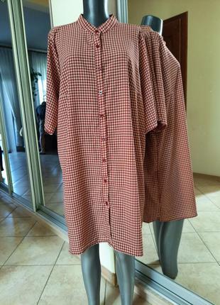 Удлинённая рубашка 👕, туника большого размера