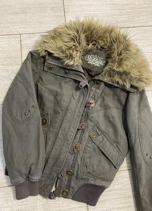 Шикарная куртка-парка