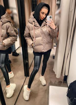 Трендовые курточки в стиле зара в наличии в цветах