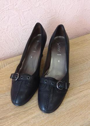 Красивые туфли gabor  натуральная кожа акция 1+1=3