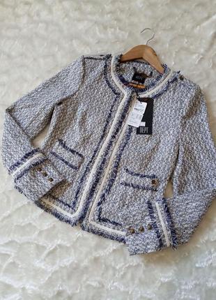 Красивый и стильный жакет, пиджак dept, размер l