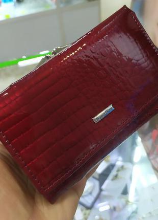 Кошелек кожаный,небольшой классический кошелек mario dion