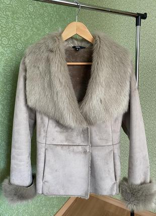 Куртка з эко хутра
