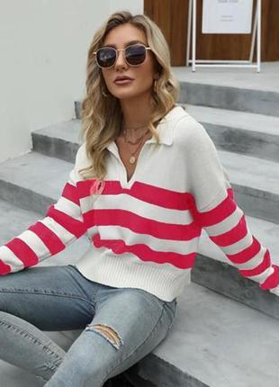 Трендовый свитер в наличии в цветах