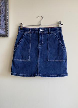 Чудова джинсова спідниця на 13-14 років, джинсовая юбка