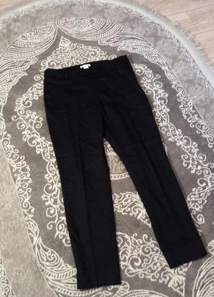 Классические брюки чорные h&m