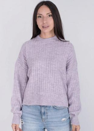 Новый сиреневый свитер