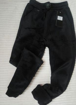 Теплые женские спортивные штаны на меху
