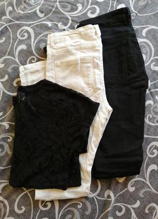 Набор рваные джинсы