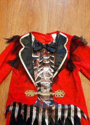 Костюм пират р.7-8л 122-128 карнавальный новогодний хеллоуин