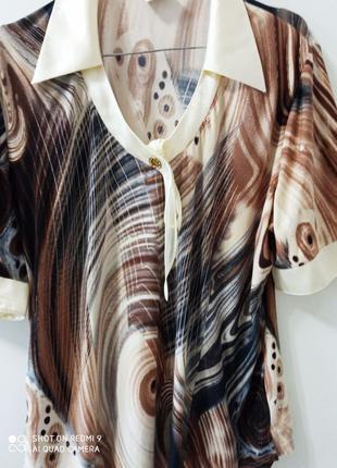 Блуза лёгкий трикотаж.
