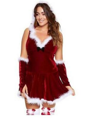 Костюм маскарадный новогодний сексуальный, платье