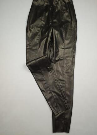 Кожаные брюки/лосины  h&m p.s