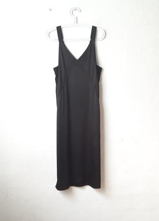Стильное платье комбинация