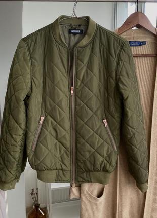 Стёганая куртка/ с утеплителем