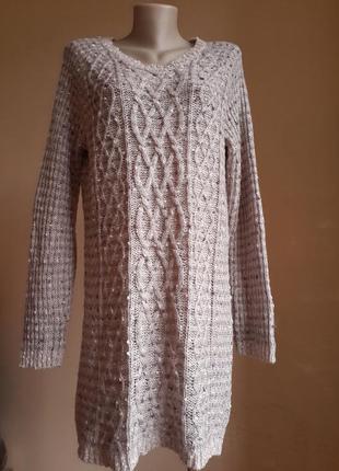 Стильное теплое платье peacocks  британия