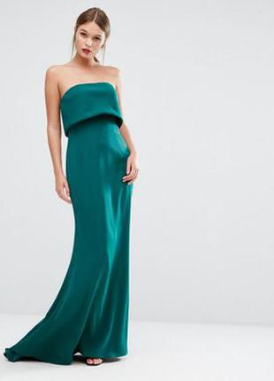 Двуслойное платье без бретелек jarlo