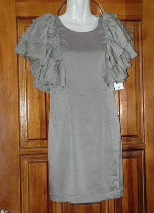 Нарядный комплект платье-перчатки