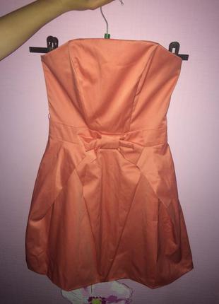 Kira plastinina атласное нарядное платье