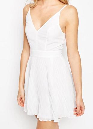 Тотальний розпродаж тільки до 16 березня !!! платье мини с шевронной отделкой asos