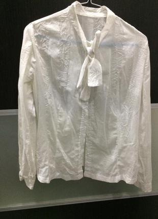 Рубашка сорочка блуза бант