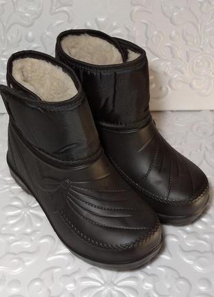 Зимние дутики, ботинки, галошики