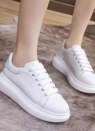 Распродажа! кроссовки из натуральной кожи, размер 36-36,5