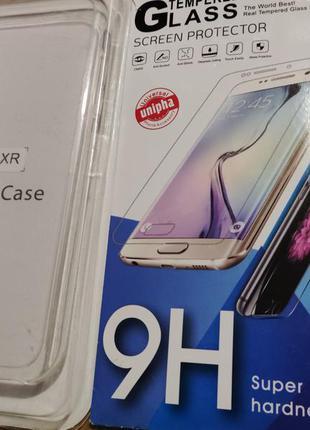 Чехол iphone xr + подарок