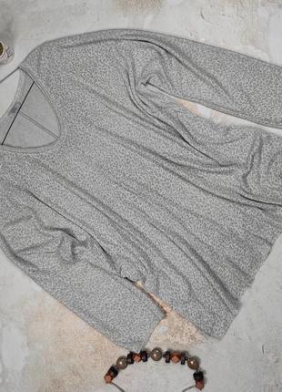 Блуза кофточка красивая трикотажная большой размер uk 22-24