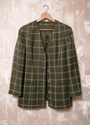Пиджак, шерстяной пиджак, пиджак без лацканов