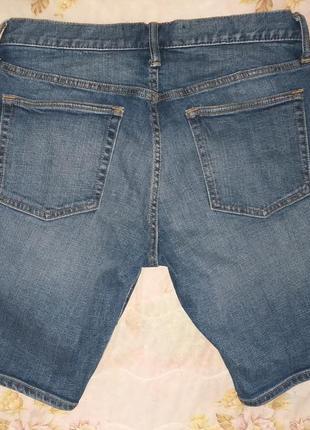 Шорты джинсовые бермуды