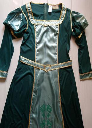 Карнавальне плаття фіона shrek