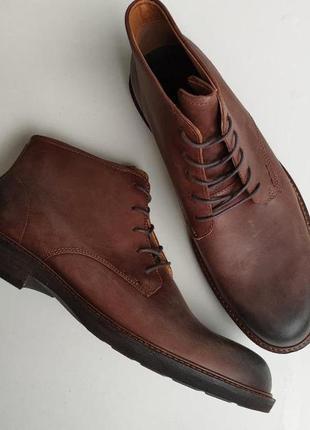 Ботинки ecco kenton plain toe