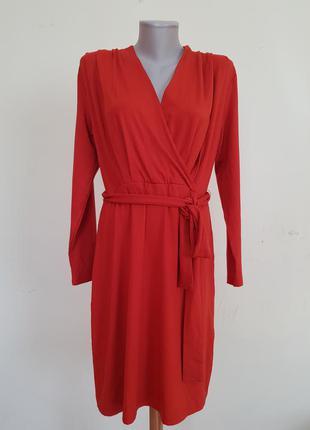 Качественное базовое трикотажное платье b.young