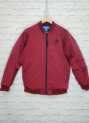 Пуховой бомбер куртка пуховик adidas originals zne ryv