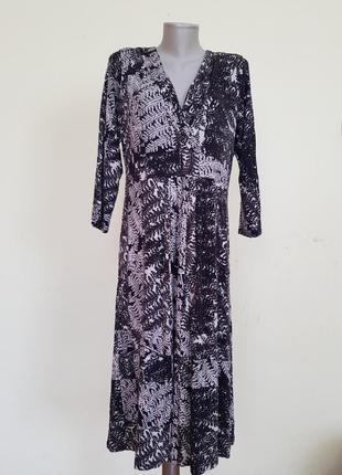Базовое брендовое трикотажное платье john rocha